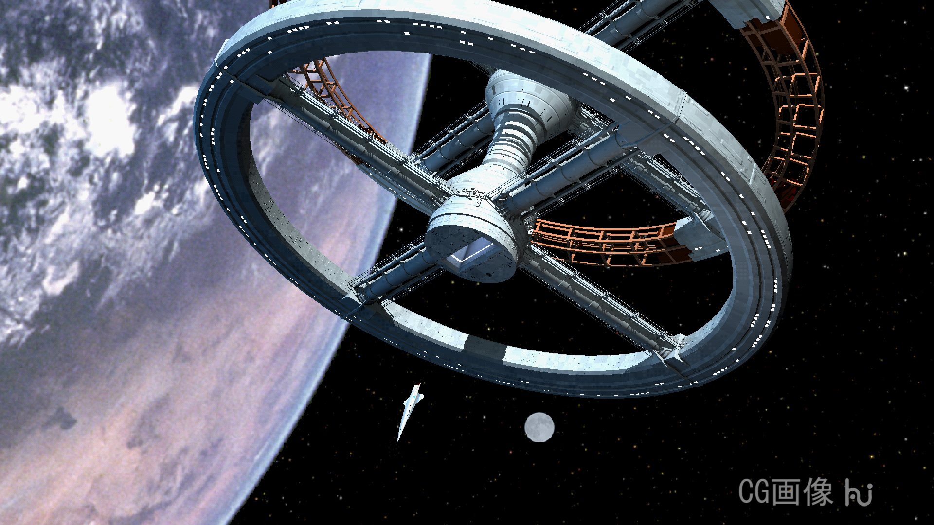 2001:a space odyssey;poster CG movie