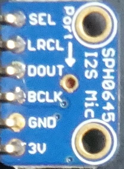 Sph0645lm4h Esp32
